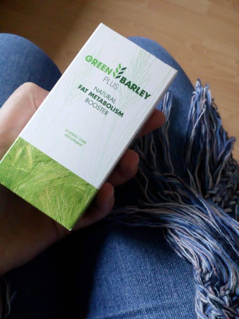 Green barley tabletki