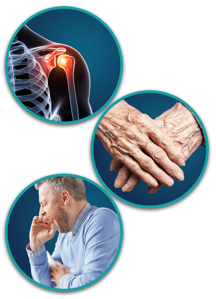 Bóle i choroby stawu - co pomoże