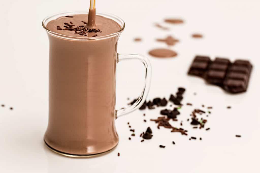Koktajl odchudzający z gorzkiej czekolady